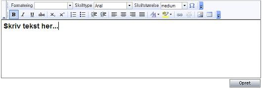 MicroCMS editor